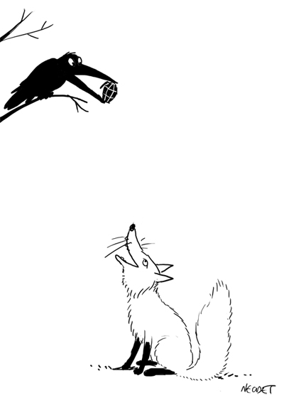 The Fox And The Crow Necdet Yilmaz